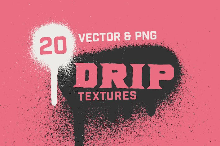 Thumbnail for Spray Paint Drip Textures