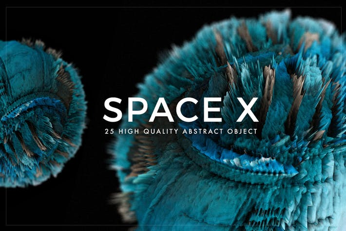 Cover Image For Space X Textures - Volume 1