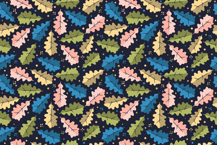 Thumbnail for Eichenblatt-Muster