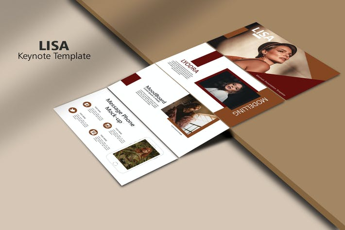 Thumbnail for LISA - Мода KeyNoteTemplate