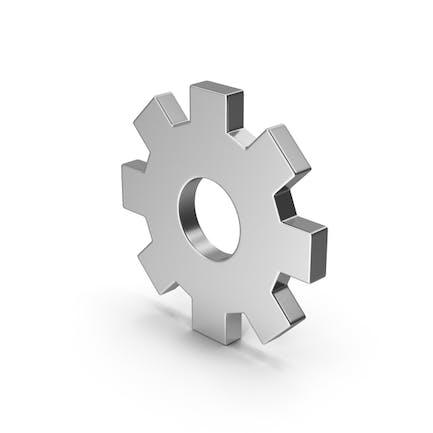 Symbol Settings Silver