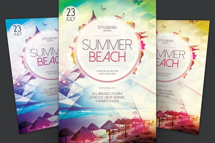 Thumbnail for Summer Beach Flyer