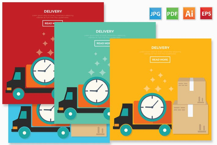 Cover Image For Delivery design