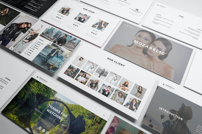 Thumbnail for Mozarelic Photography Powerpoint Template