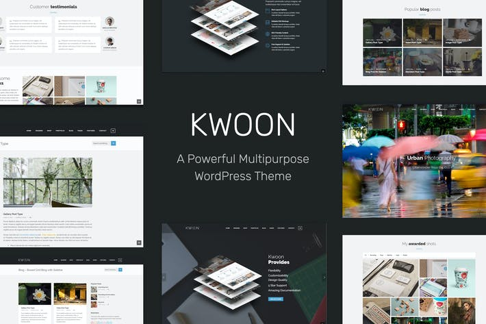 Thumbnail for Kwoon - Multipurpose WordPress Thema