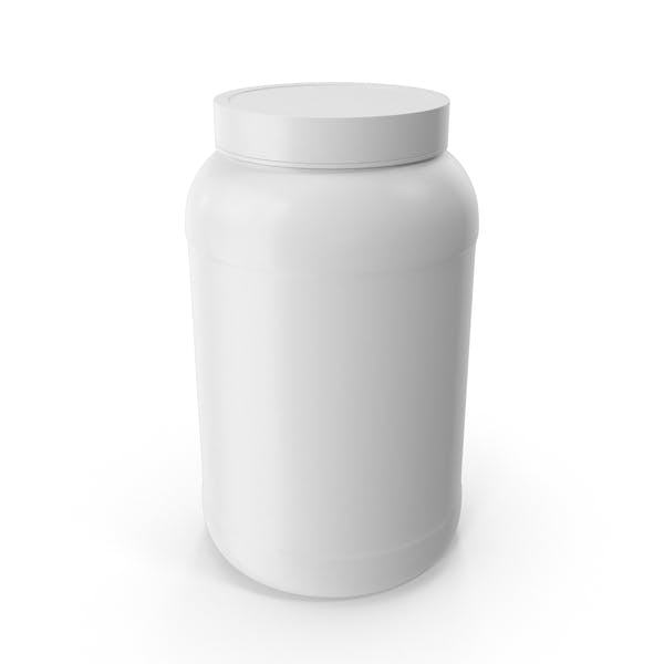 Botellas de Plástico Boca Ancha 1 Galón Blanco