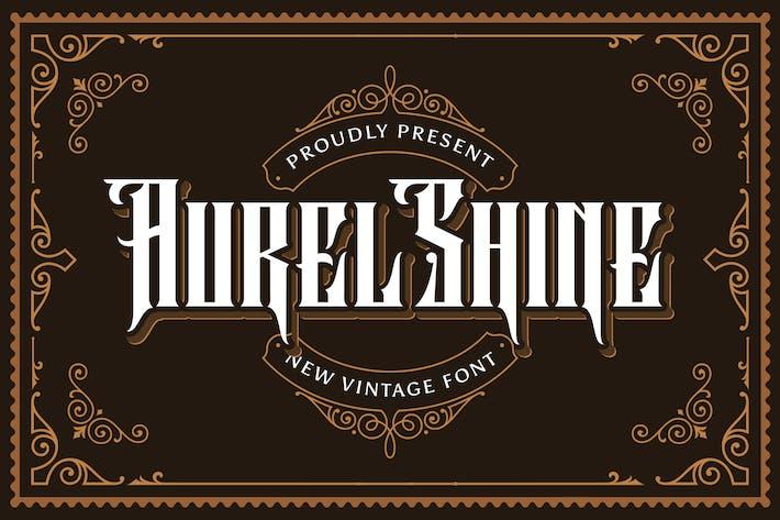 Aurel Shine - Police Blackletter