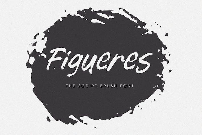 Thumbnail for Figueres - Fuente de pincel de escritura