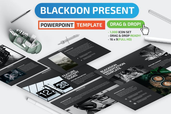 Презентация Blackdon Powerpoint
