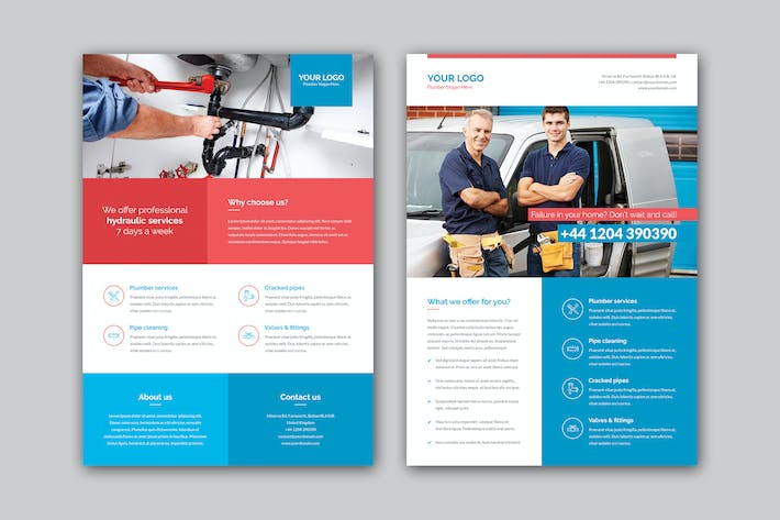 Thumbnail for Flyer – Plumber