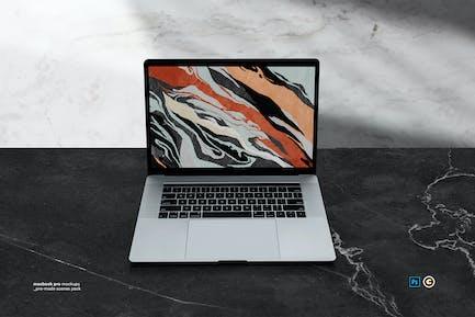 Macbook Ordenador portátil Display Web Aplicación Maqueta