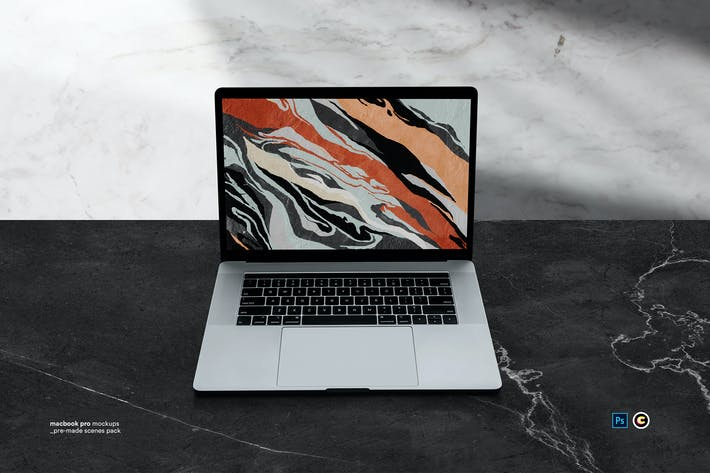 Cover Image For Macbook Laptop Display Web App Mock-Up