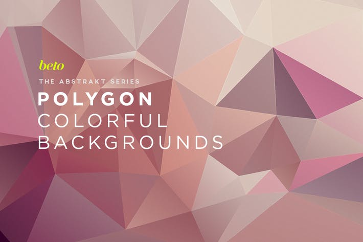 Thumbnail for Polygon Abstract Backgrounds V17