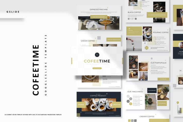 Cover Image For Cofeetime - Google Slides Template