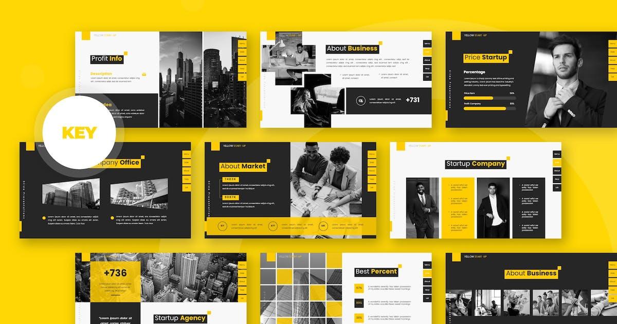 Download Yellow Site - Keynote Template by karkunstudio
