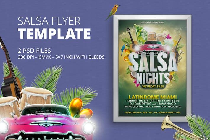 Thumbnail for Salsa/Latin Flyer