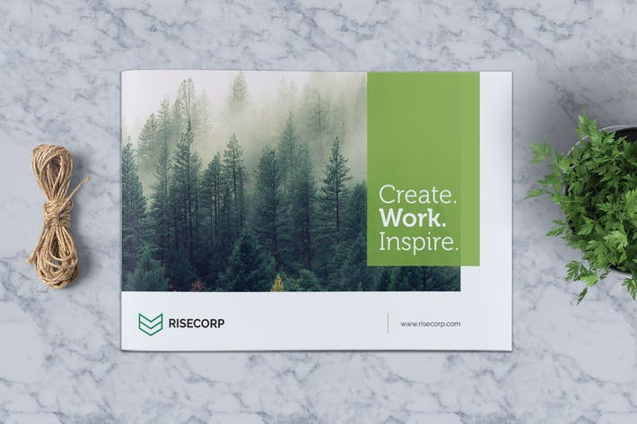 Thumbnail for Creative Brochure Template A5 Vol. 25