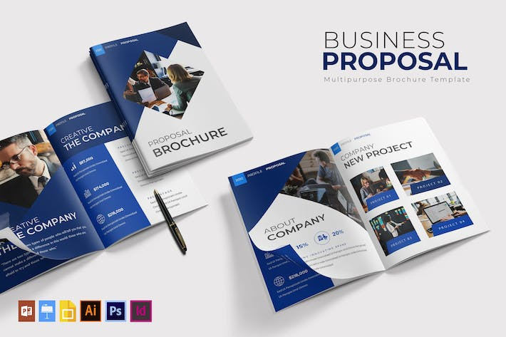 Cover Image For Business | Brochure Template