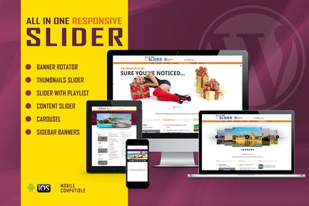 All In One Slider - Responsive WordPress Plugin