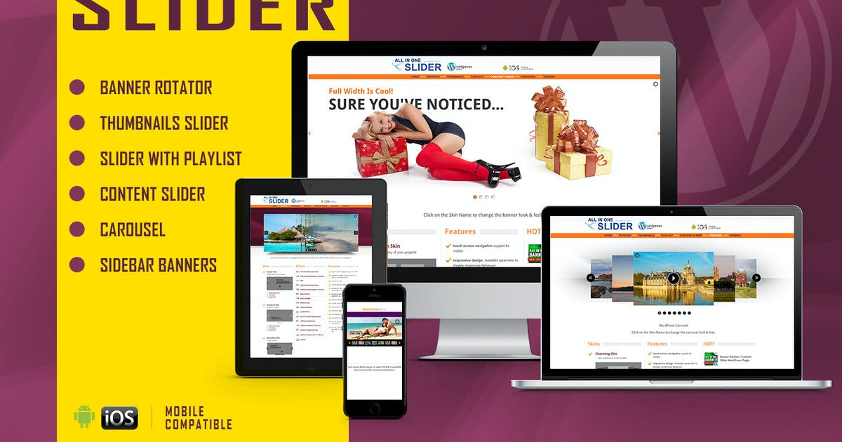 Download All In One Slider - Responsive WordPress Plugin by LambertGroup