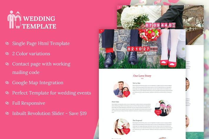 Cover Image For My Wedding - Wedding Invitation Template