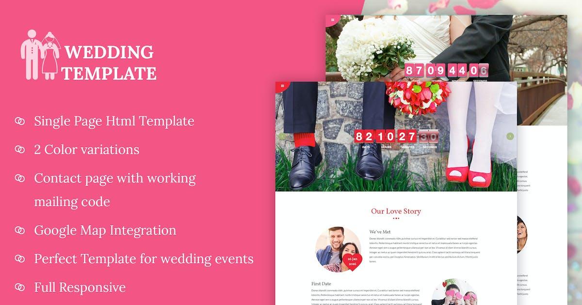 Download My Wedding - Wedding Invitation Template by kamleshyadav