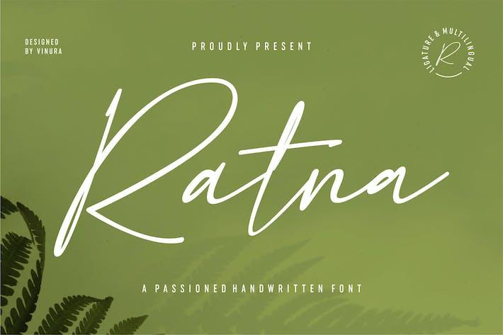 Thumbnail for Ratna   Una fuente manuscrita apasionada