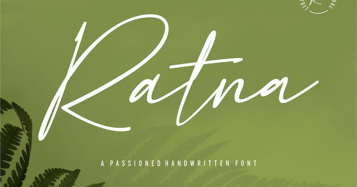 Download Ratna | A Passioned Handwritten Font by Vunira