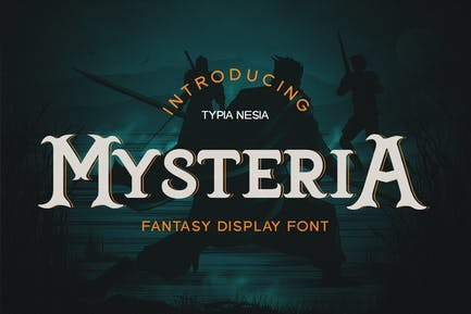 Mysteria - Game Font