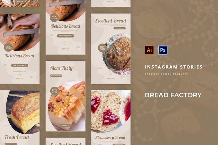 The Bread Factory Instagram Story