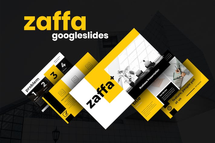 Thumbnail for Zaffa - Business Googleslides Presentation