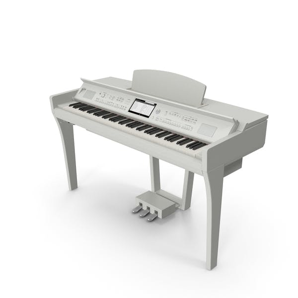 White Professional Digital Piano