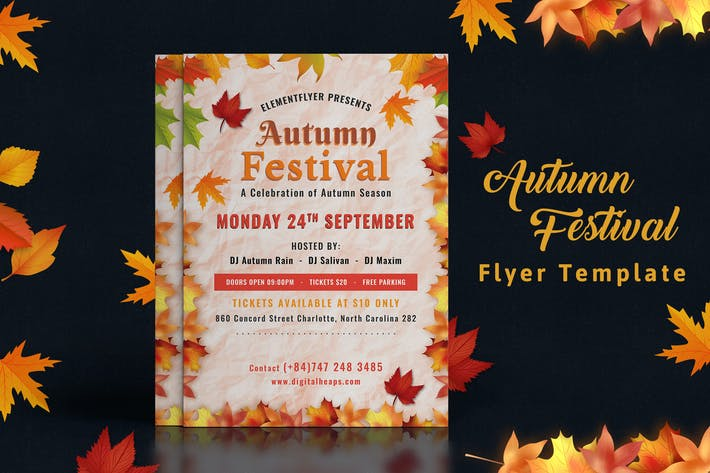 Thumbnail for Autumn Festival Flyer-04