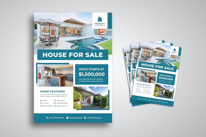 Thumbnail for House Sale Flyer