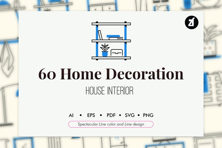Thumbnail for 60 Home decoration elements
