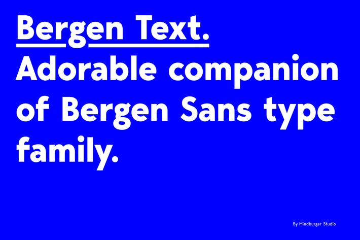 Thumbnail for Bergen Text