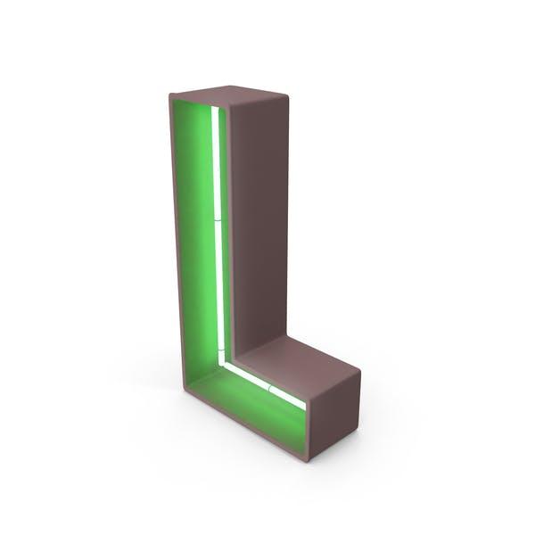 Thumbnail for Neon Letter L