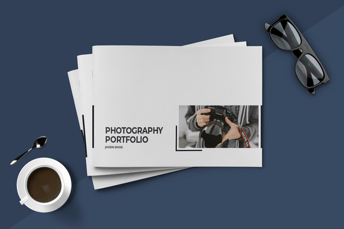 Thumbnail for A5 Minimal Photography Portfolio