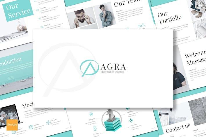 Thumbnail for Agra - Google Slides Template