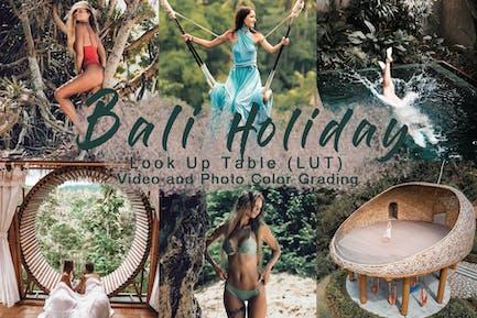 BALI HOLIDAY -  Video LUT
