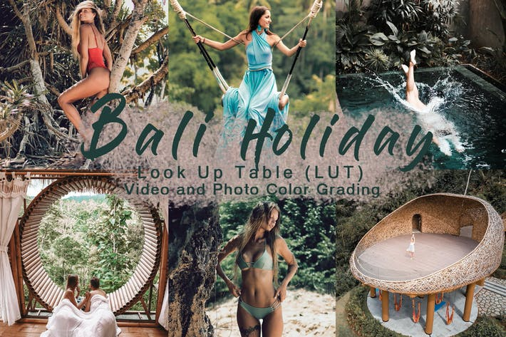 Thumbnail for BALI HOLIDAY -  Video LUT