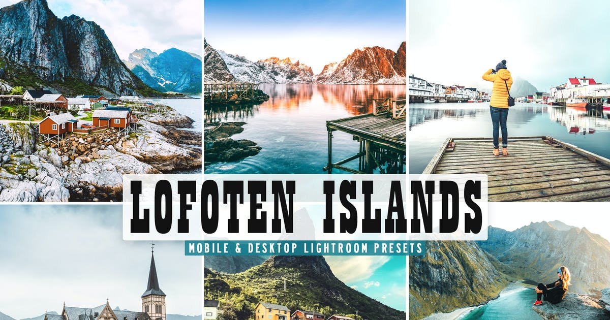 Download Lofoten Islands Mobile & Desktop Lightroom Presets by creativetacos