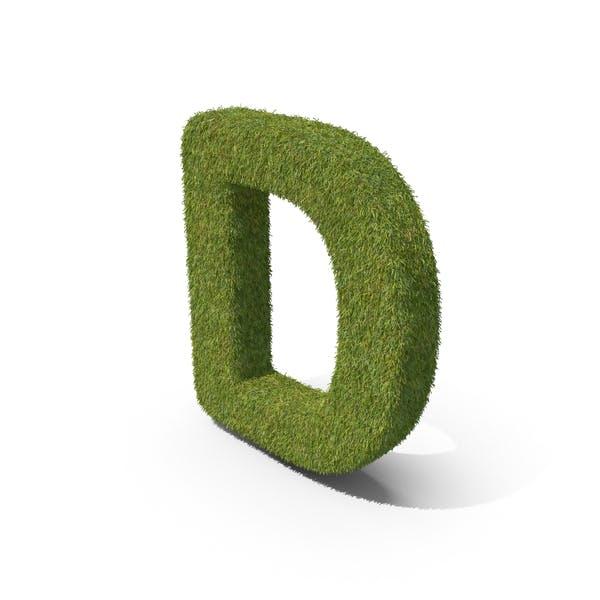 Трава заглавная буква D