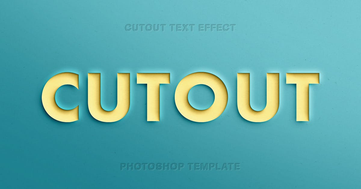 Download Papercut Text Effect by pixelbuddha_graphic