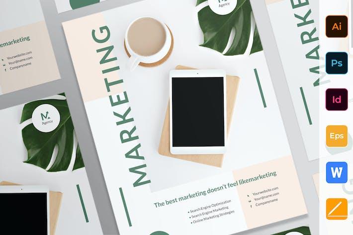 Thumbnail for Digital Marketing Agency Poster