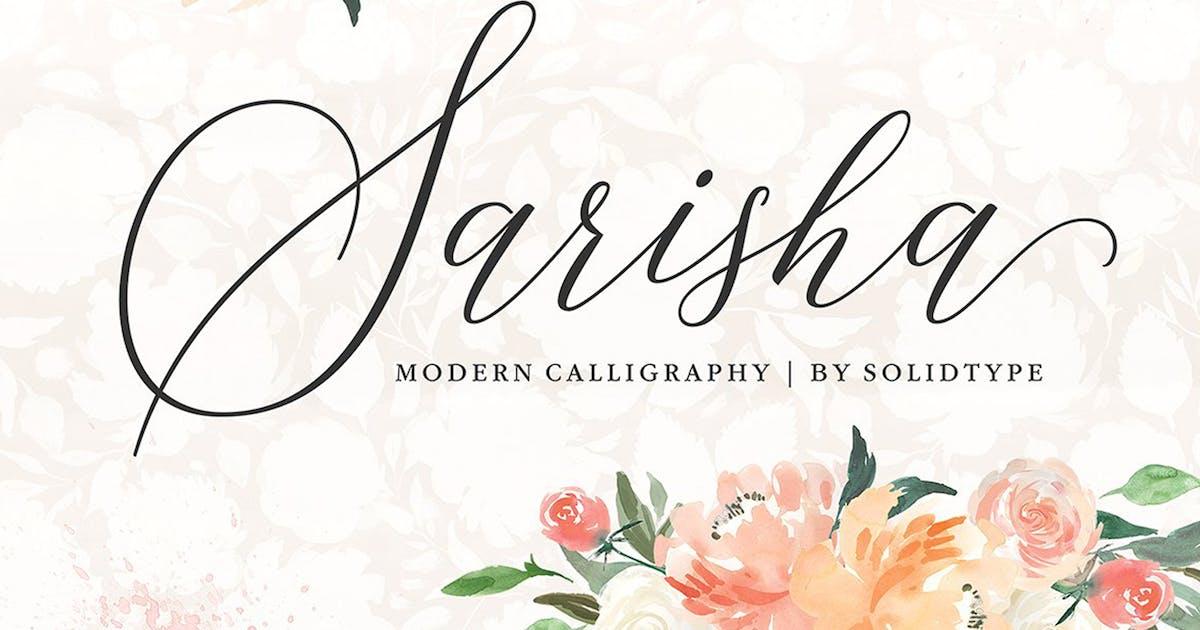 Sarisha Script by Solidtype