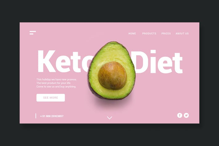 Thumbnail for Keto Diet - Page de destination