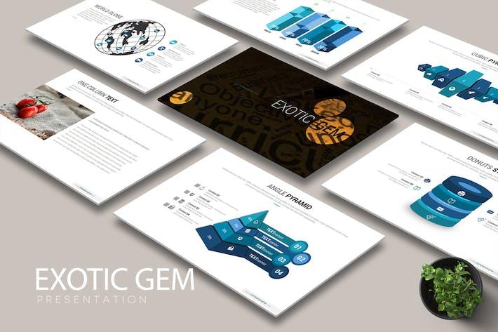 Cover Image For EXOTIC GEM Google Slides