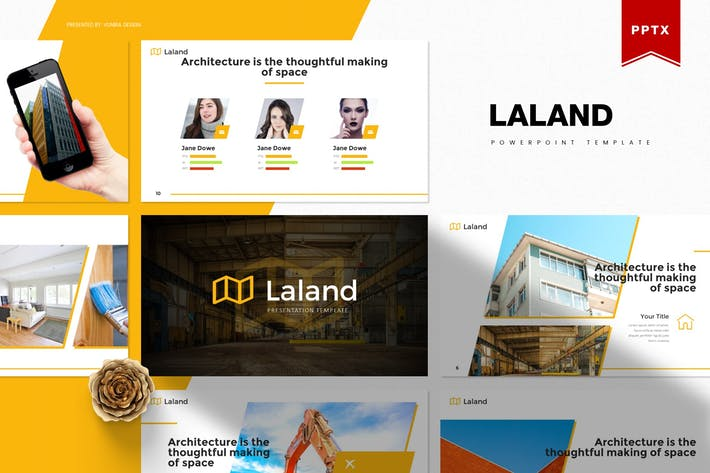 Thumbnail for Laland   Powerpoint Template