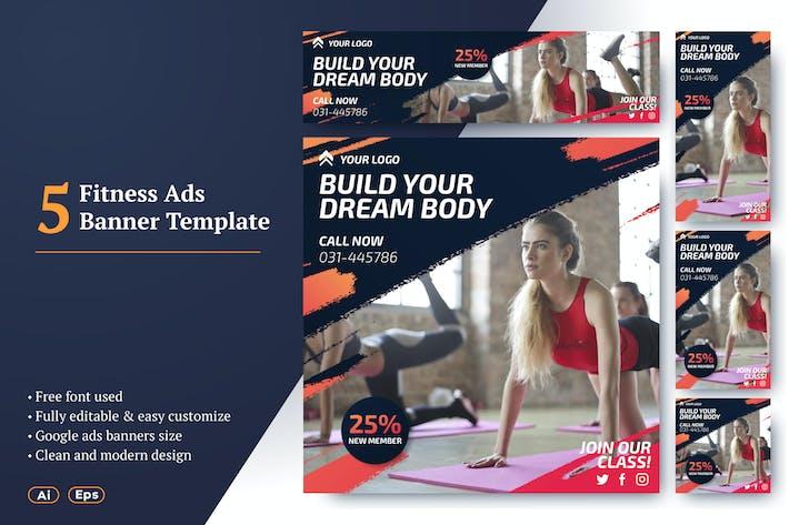 Thumbnail for AWR Fitness Banner Ads